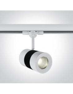 Lampa LED Kampia 15W 4000K do szynoprzewodu 3-fazowego biała 65628T/W/C - OneLight