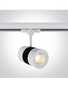 Oprawa LED 15W 3000L Kampia do szynoprzewodu 3-fazowego biała 65628T/W/W - OneLight