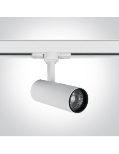 Oprawa LED 10W Skalitina 4000K do szynoprzewodu 3-fazowego biała 65642AT/W/C - OneLight