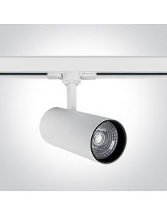 Lampa LED 20W 3000K Skalitina 2 do szynoprzewodu 3-fazowego biała 65642BT/W/W - OneLight