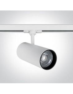 Oprawa LED 30W Skalitina 3 biała 3000K do szynoprzewodu 3-fazowego 65642CT/W/W - OneLight