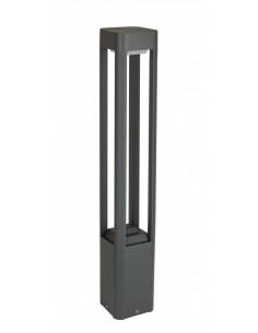 Lampa ogrodowa stojąca 80cm Fan kwadrat antracyt IP54 FKW-800 - Su-ma