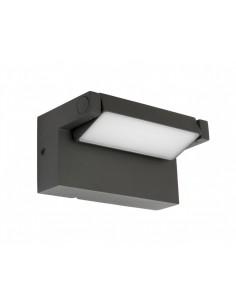 Kinkiet elewacyjny LED regulowany IP54 Rota antracyt RT-K100 - Su-ma