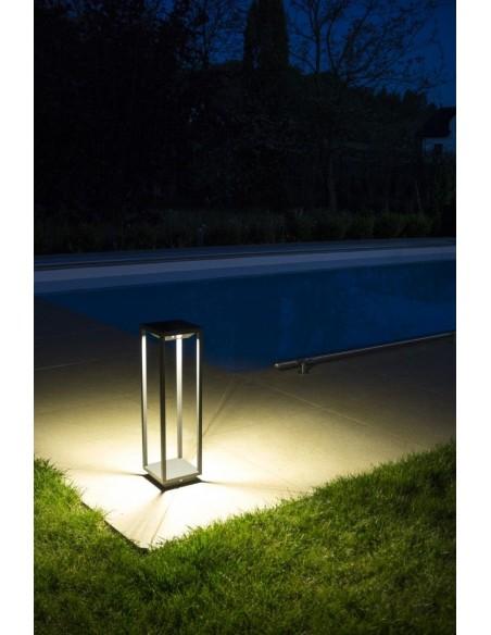 Lampa ogrodowa z czujnikiem ruchu LED San Solar IP54 antracyt SN-500 - Su-ma