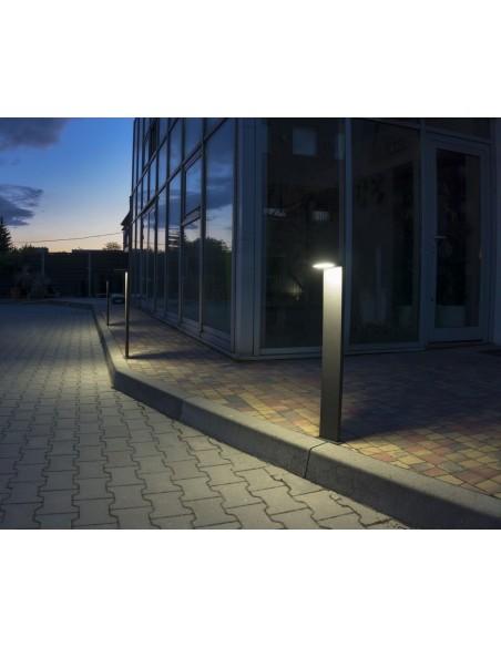 Lampa ogrodowa stojąca LED IP54 Karo 78cm antracyt KR-780 - Su-ma