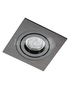 Oprawa podtynkowa regulowana Alcazar 541.BB oczko czarne GU10 - Lumifall LMF.AZ541BB