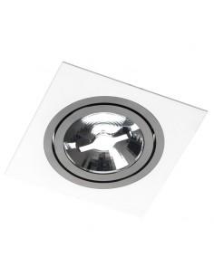 Oprawa podtynkowa regulowana oczko Alcazar 141.WB ES111 biało czarna - Lumifall