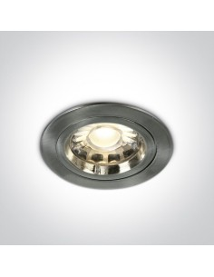 Oprawa podtynkowa Pirgos aluminiowa gu10 10105/MC - OneLight