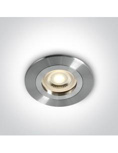 Oprawa podtynkowa oczko Perisa GU10 aluminium 10105A1/AL - OneLight