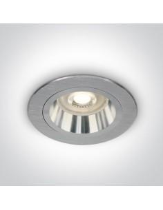 Oprawa podtynkowa Jalia oczko GU10 aluminium 10105ALG/AL - OneLight
