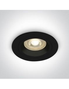 Oczko oprawa podtynkowa okrągła czarna GU10 Jalia 10105ALG/B - OneLight