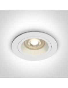Oprawa podtynkowa oczko białe Jalia GU10 10105ALG/W - OneLight
