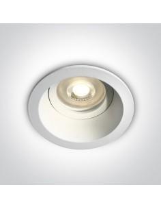 Oprawa podtynkowa Meladia biała GU10 oczko wpust 10105D4/W - OneLight