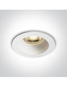 Oprawa podtynkowa biała GU10 Kanawi oczko wpust 10105M/W/W - OneLight