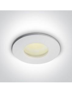 Oprawa podtynkowa szczelna Arminu IP44 okrągła biała 10105R/W - OneLight
