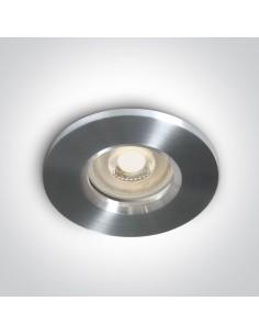 Oprawa podtynkowa IP65 szczelna Nikolaos aluminium 10105R1/AL - OneLight