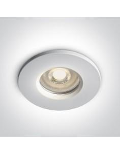 Oprawa podtynkowa szczelna IP65 Nikolaos biała łazienkowa 10105R1/W - OneLight