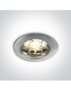 Oczko podtynkowe okrągłe Statos GU10 wpust chrom 10105X/C - OneLight