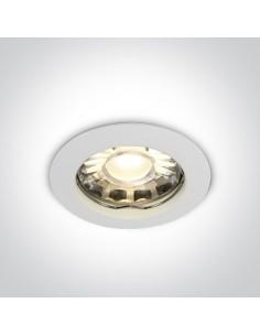 Oczko podtynkowe białe Statos GU10 okrągły wpust 10105X/W - OneLight