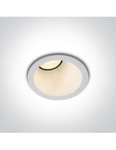 Oprawa podtynkowa LED Komi biała oczko wpust 10108A/W/W - OneLight