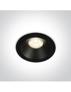 Oprawa podtynkowa LED Armu czarna 10108D/B/W - OneLight