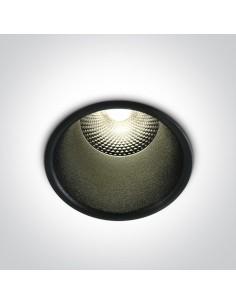 Oprawa podtynkowa LED Alektora 10W czarna 10110FD/B/W - OneLight