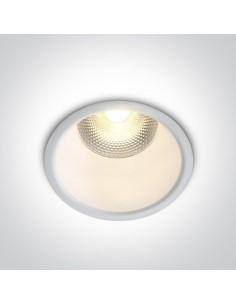 Oprawa podtynkowa LED 10W Alektora biała 10110FD/W/W - OneLight
