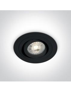 Oprawa podtynkowa regulowana GU10 wpust Kakopetria czarny 11105ABGL/B - OneLight