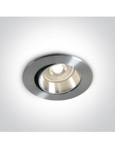 Oprawa podtynkowa regulowana Tsakistra wpust oczko GU10 11105B1/AL - OneLight