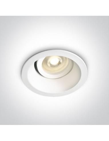 Oprawa podtynkowa regulowana oczko Paleomilos wpust biały 11105D4/W - OneLight