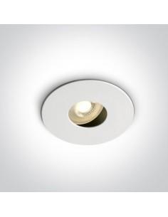 Oprawa podtynkowa regulowana wpust Arsos oczko białe GU10 11105E/W - OneLight