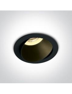 Oprawa podtynkowa regulowana GU10 Vitali czarna 11105M/B/B - OneLight