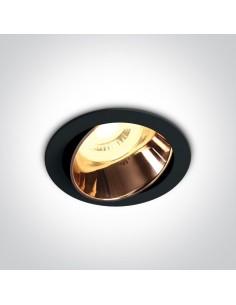 Oprawa podtynkowa regulowana Vitali czarno miedziana 11105M/B/CU - OneLight