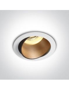 Oprawa podtynkowa regulowana biały mosiądz Vitali 11105M/W/BS - OneLight