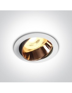 Oprawa podtynkowa regulowana biało miedziana GU10 Vitali 11105M/W/CU - OneLight