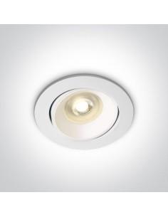 Oprawa podtynkowa regulowana oczko Arta 2 wpust biały 11105UA/W - OneLight