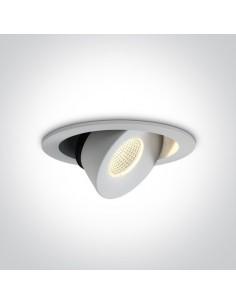 Oprawa LED Antiro regulowana 12W biała 11113E/W/W - OneLight