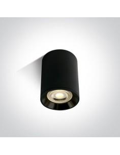 Tuba natynkowa GU10 czarna Lawrio 1 punktowa 12105AL/B/B - OneLight