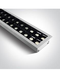 Oprawa podtynkowa LED 4000K Pitrofos biała listwa 38150BR/W/C - OneLight