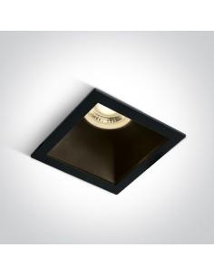 Oprawa podtynkowa wpust kwadratowyh Adamas czarny 50105M/B/B - OneLight