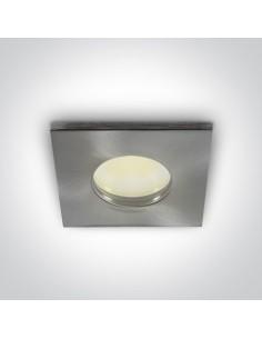 Oprawa podtynkowa szczelna IP44 Zefiria GU10 chrom oczko wpust 50105R/MC - OneLight