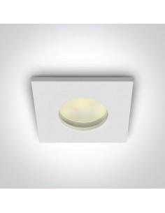 Oprawa podtynkowa IP44 Zefira oczko wpust biały szczelny 50105R/W - OneLight