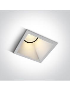 Oprawa podtynkowa LED Koronida oczko wpust biały 50108A/W/W - OneLight