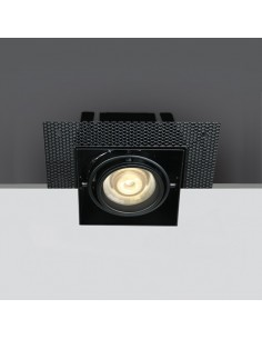 Oprawa podtynkowa bezramkowa GU10 regulowana Stefania 51010TR/B - OneLight