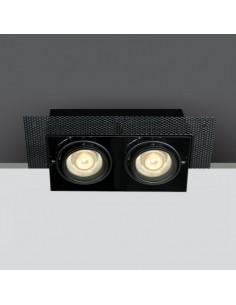 Oprawa podtynkowa regulowana bezramkowa Stefania czarna 51020TR/B - OneLight