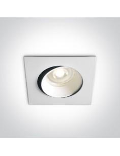 Oprawa podtynkowa regulowana GU10 Antigonia biała 51105B1/W - OneLight