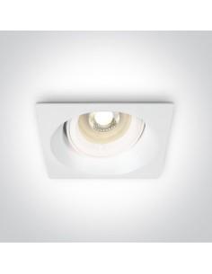 Oprawa podtynkowa regulowana Efkarpia wpust biały oczko 51105CDG/W - OneLight