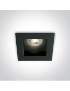 Oprawa podtynkowa czarna regulowana Ditiko GU10 51105TA/B - OneLight