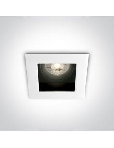 Oprawa podtynkowa regulowana kwadratowa Ditiko GU10 biała 51105TA/W - OneLight
