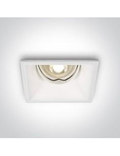 Oprawa podtynkowa regulowana Pella oczko wpust biały 51105TG/W - OneLight
